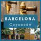 Viajamos a Barcelona y Coyoacán.