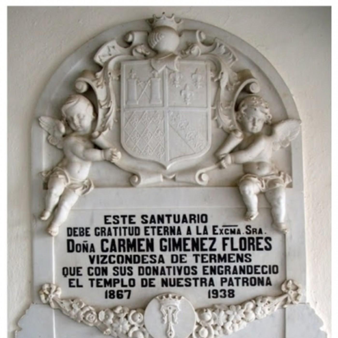 LA HISTORIA ENTRE LÍNEAS: La Vizcondesa de Termens y la Romería del Carmen en Cabra