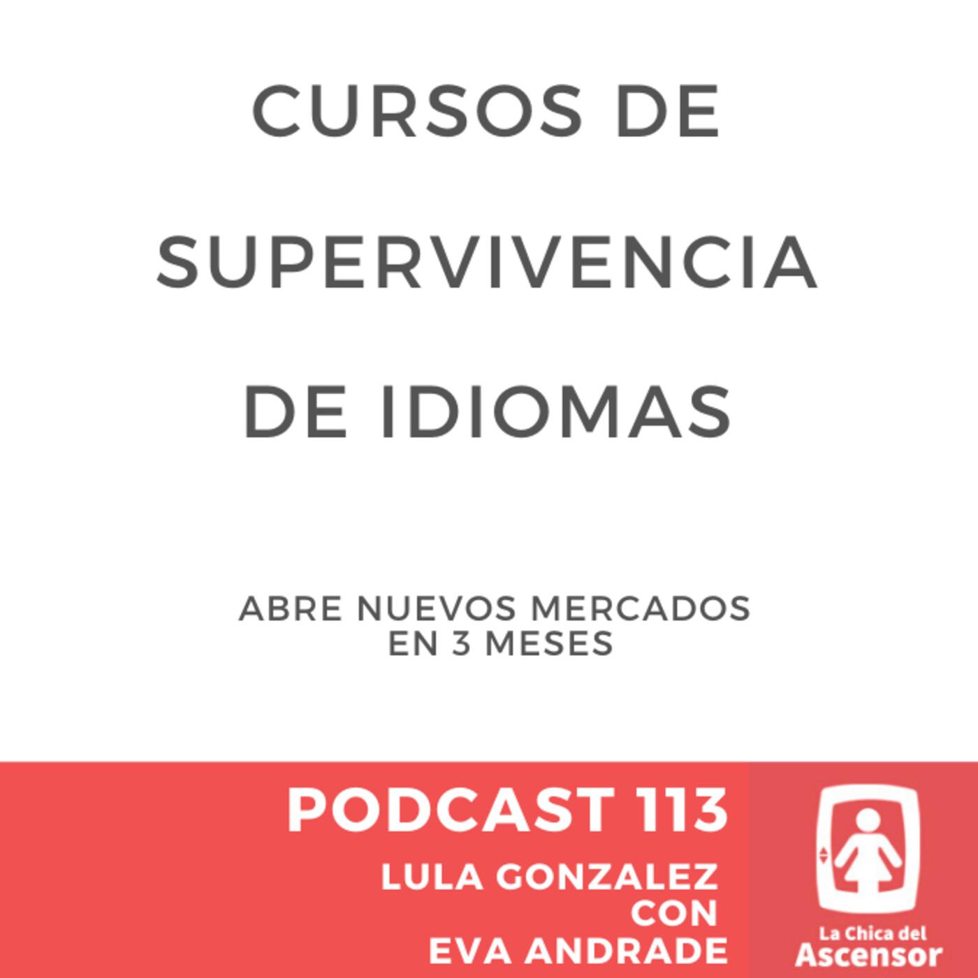 113 - Cursos de supervivencia de idiomas Portugués, Japonés, Coreano y muchos más