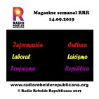 Magazine semanal RRR - 14.09.2019