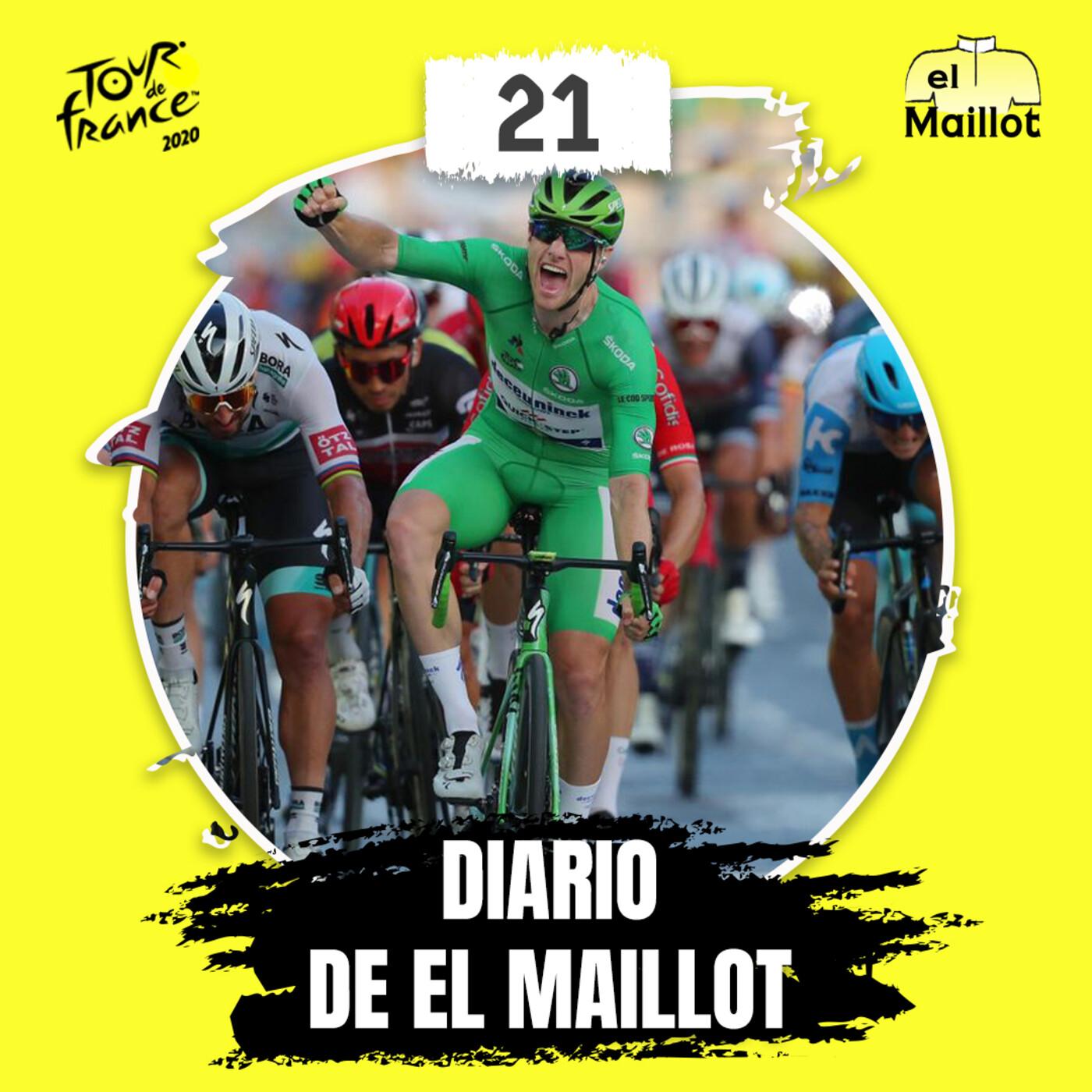 Diario El Maillot | Tour de Francia 2020: 21ª etapa