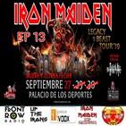 13 Especial Iron Maiden México 2019