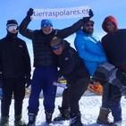 El Trineo de Viento alcanza East Grip en Groenlandia