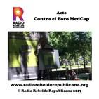 """Acto """"Contra el Foro MedCap"""""""