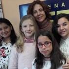 Hoy nos visitan las jóvenes mediadoras del colegio ROSA CHACEL