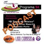 P.54 - El Tenor de México con Julio Cesar Mancilla_Parte2 - 10.29.17