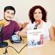 Entrevistando a Mónica Fernández y Adrián Tudorica