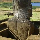 Las cabezas de la isla de Pascua