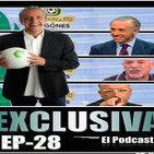 Exclusiva El Podcast EP-28 : Pedrerol, Florentino, Mourinho, François Gallardo y mucho más…..