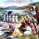 El Paso del Jordán (Jos. 3:1-17)