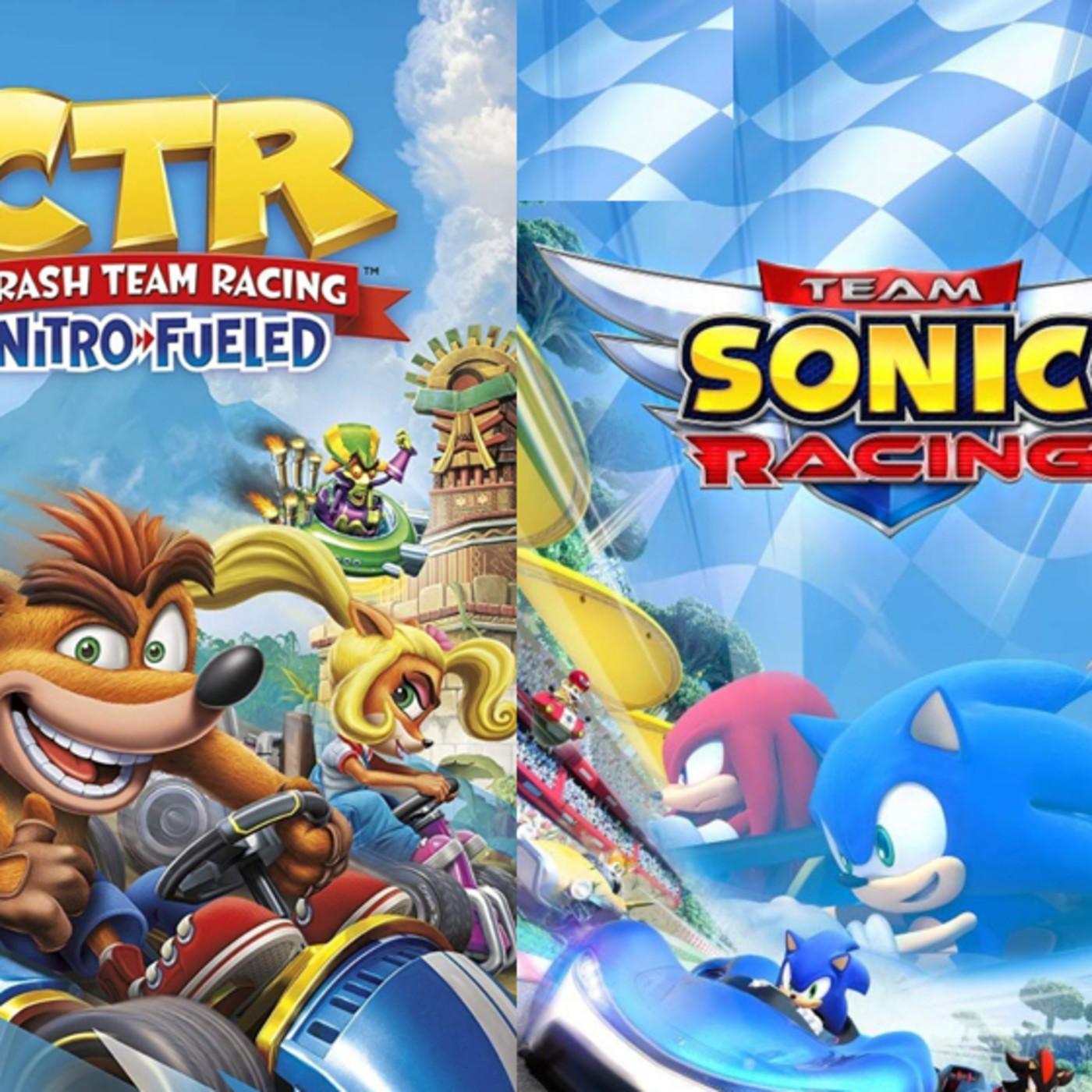 CG76-4 Team Sonic Racing - Crash Team Racing un Podcast de CronicasGoomba