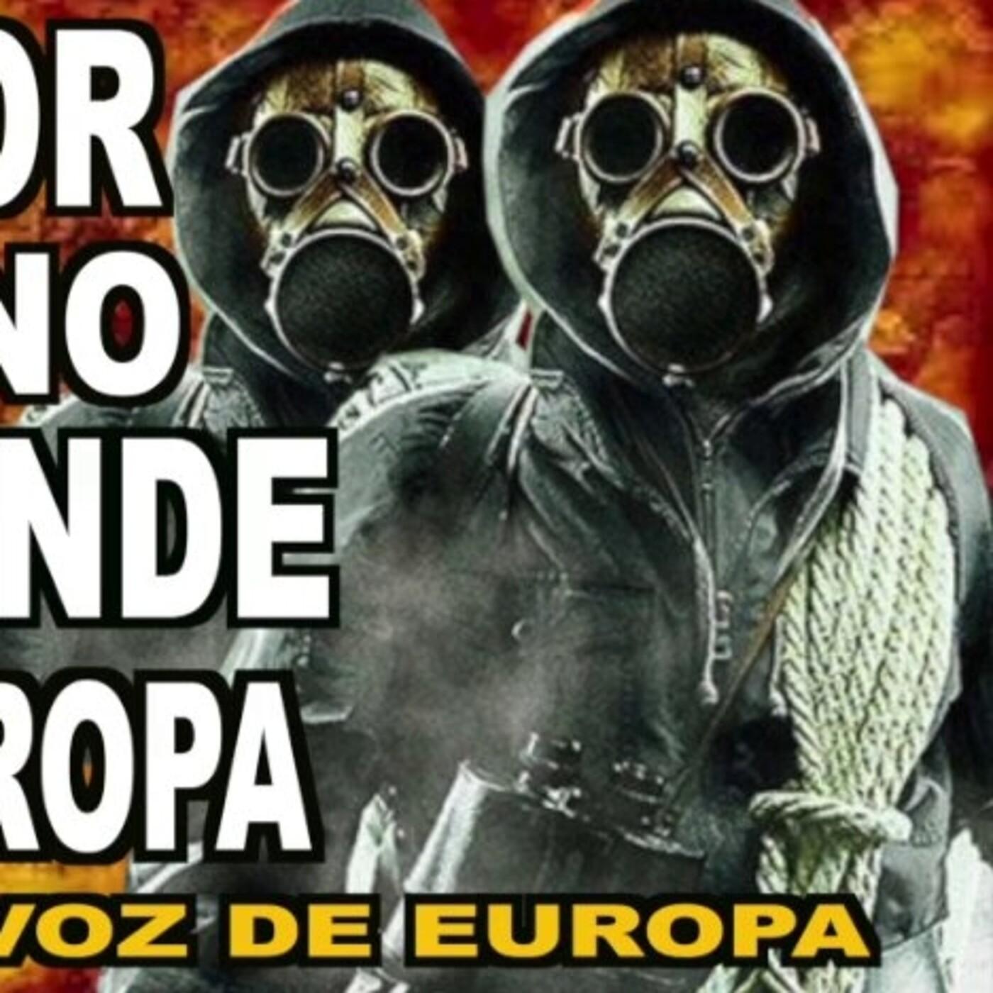 El TERROR covidiano se extiende por EUROPA