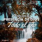Llenos con la presencia de Dios todo el año