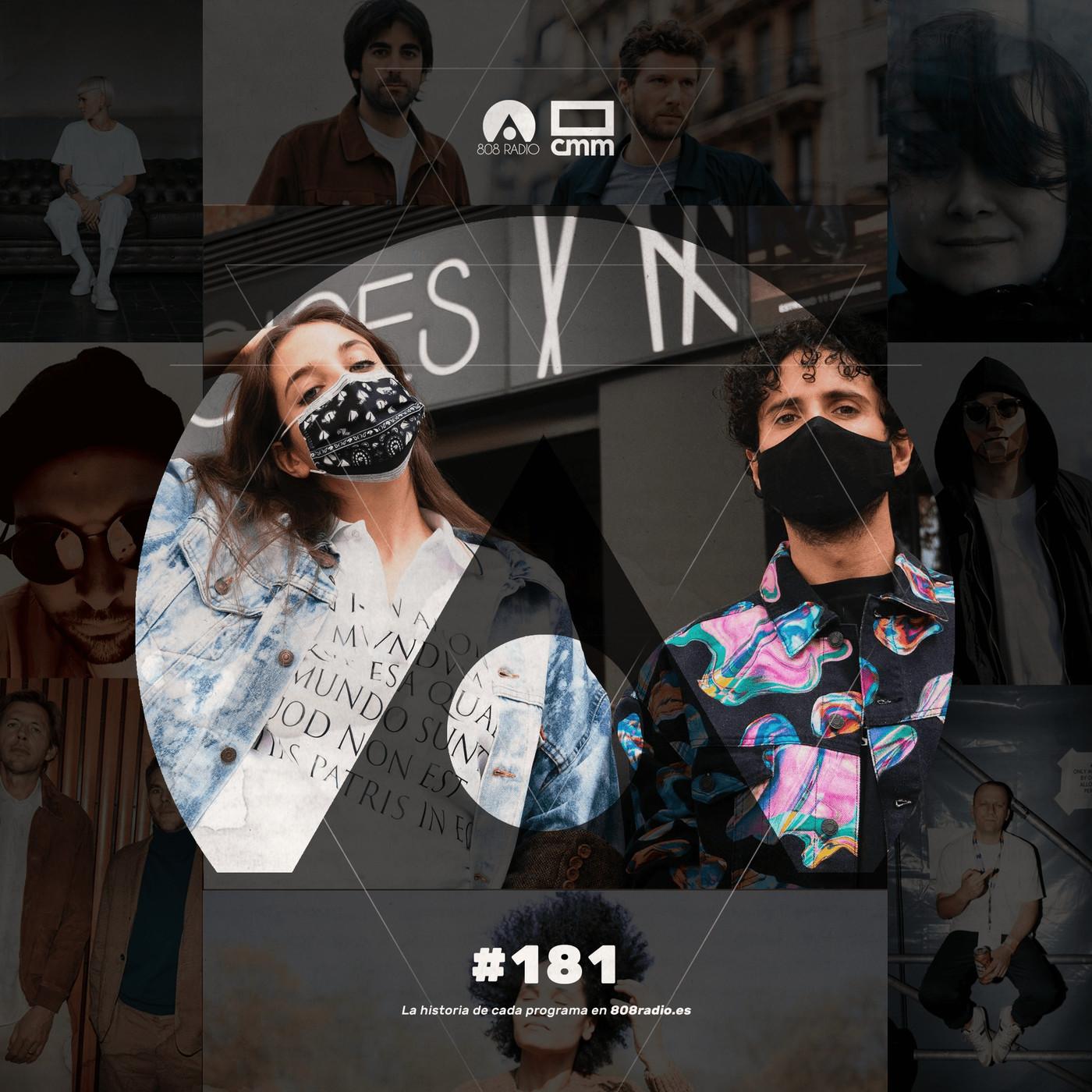 808 Radio #181 / Delaporte / CMM Radio – 26/9/2020