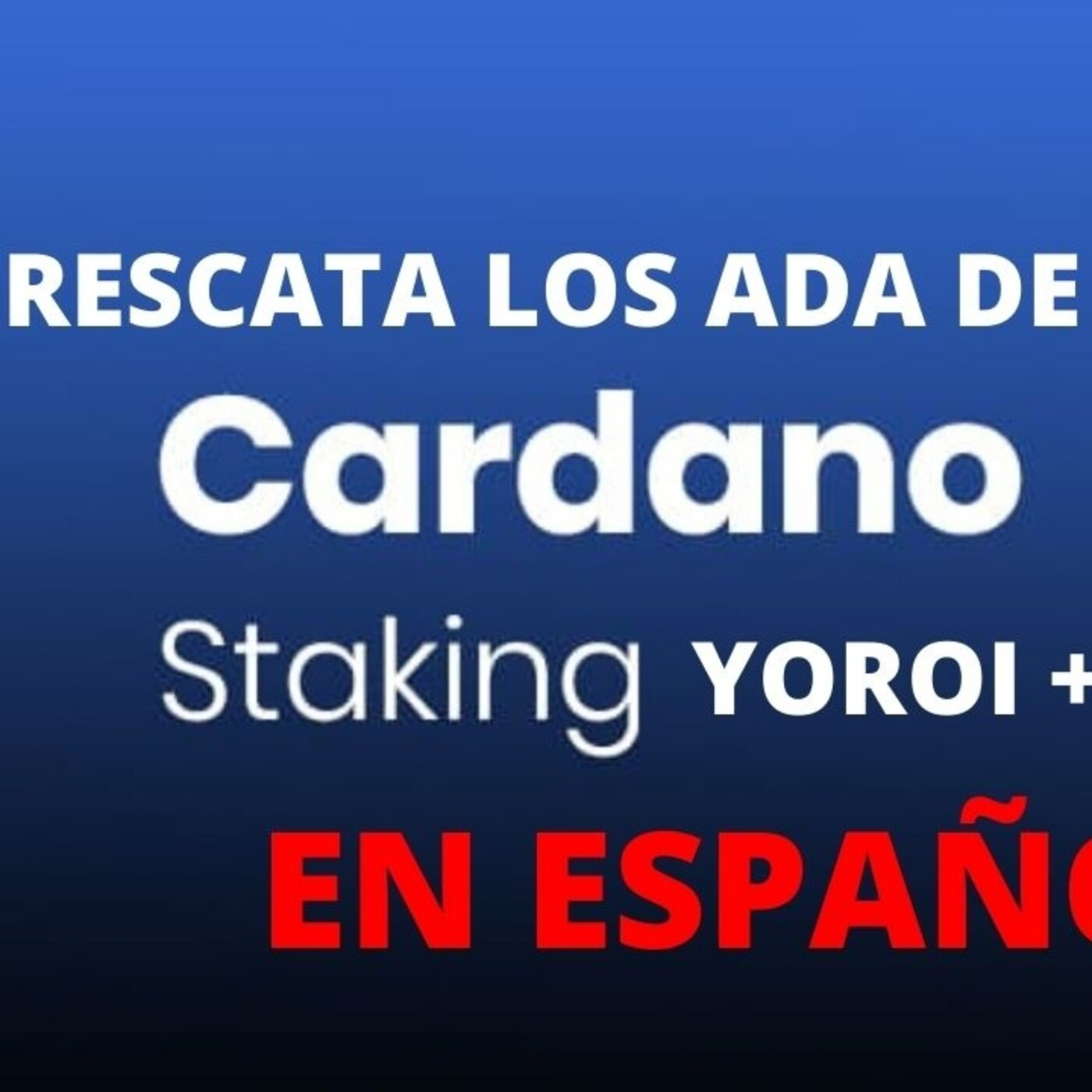 Delegar Cardano Tutorial - Staking + Ledger Nano - Reclamar Ada Testnet