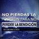No Pierdas La Posición Para No Perder La Bendición - Pastora Ana Olondo
