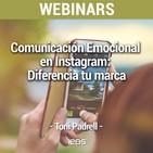"""Webinar """"Comunicación Emocional en Instagram: diferencia tu marca"""" de IEBS"""