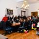 El plantel de Menores del Instituto Humboldt se consagró hace pocas horas en Chubut, y a su llegada a Necochea recibiero