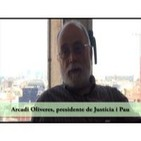 23.05.2011 Arcadi Oliveres, presidente de Justícia i Pau