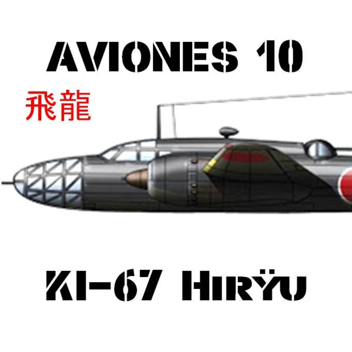 AVIONES 10 #83 Mitsubishi KI-67 Hiryu, Dragón volador