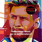 Lionel Messi, ¿se va del Barcelona?
