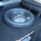 12 shallow mount subwoofer - ts swx2502 - compact subwoofer