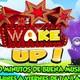 Wake Up Con Damiana( JULIO 3.2017) MUSICA Y CONSEJOS.