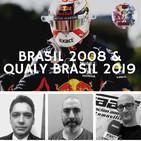 F1 Bandera a Cuadros - Qualy Brasil 2019 y carrera Brasil 2008
