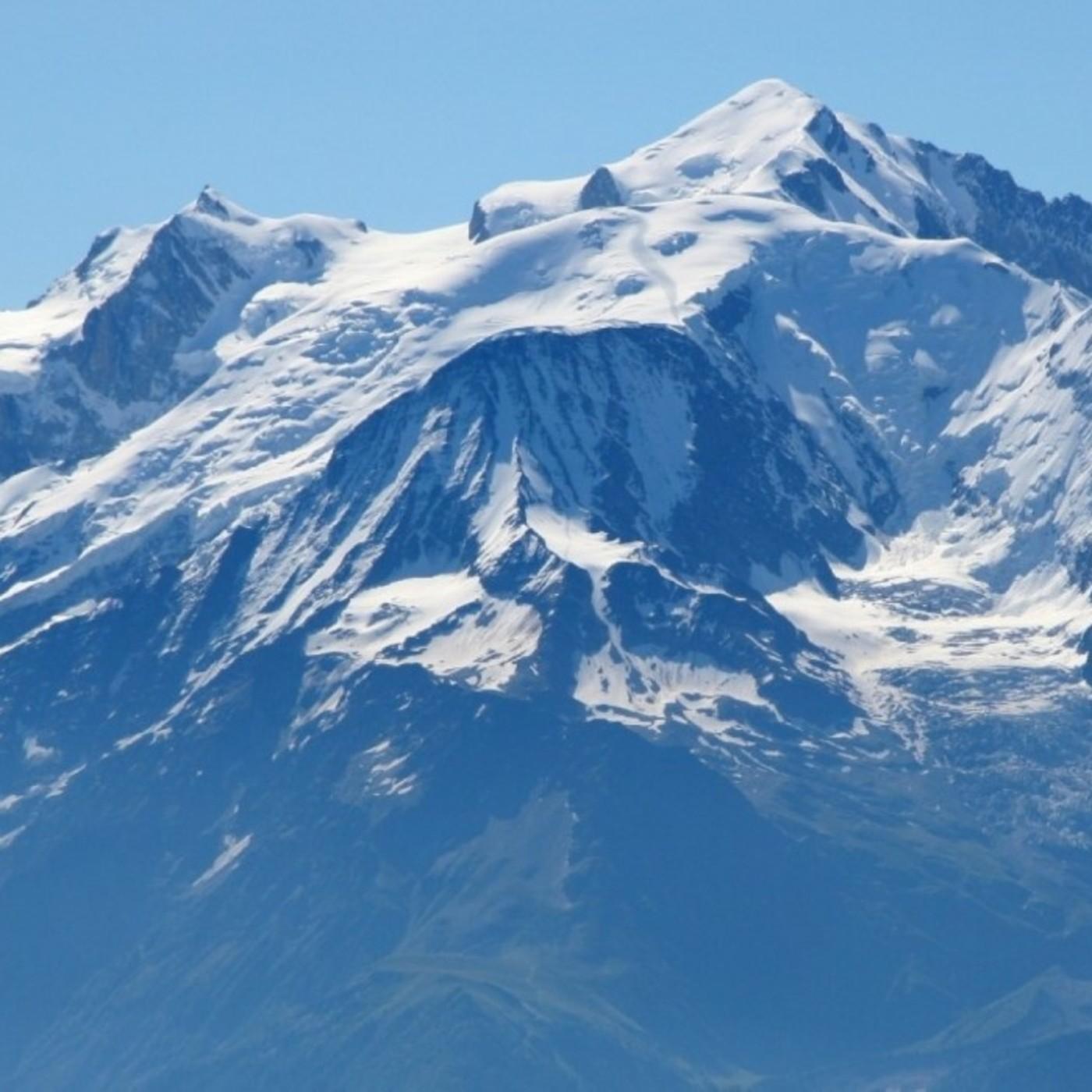 31.- Mochileros en el Mont Blanc por la ruta de los cuatromiles (con Daniel Molina).