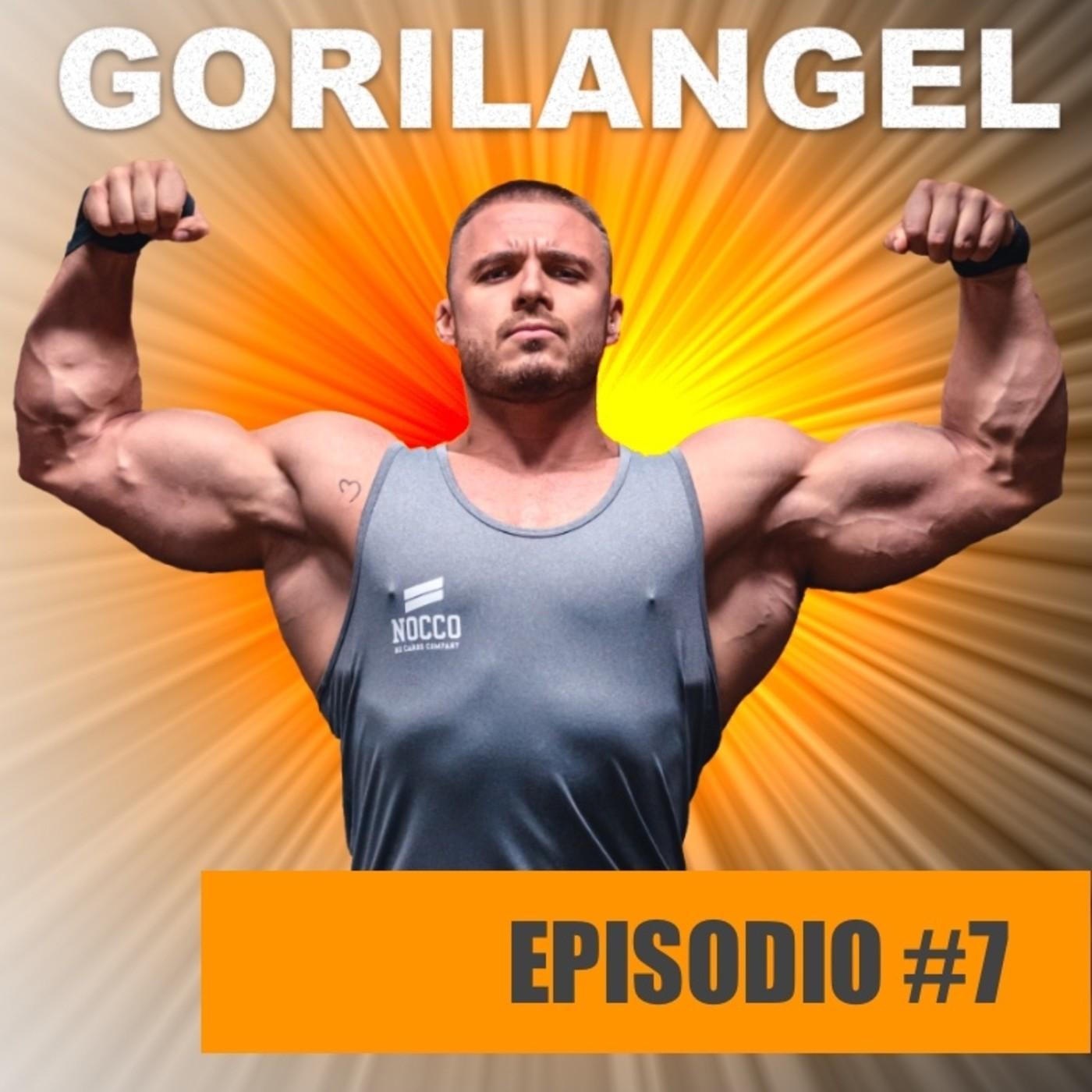 Episodio 7 con Gorilangel. Hipertrofia y suplementación. Técnicas avanzadas. Mejorar la conexión neuromuscular.
