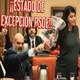 Psoe declara el estado de excepcion en el congreso: censura