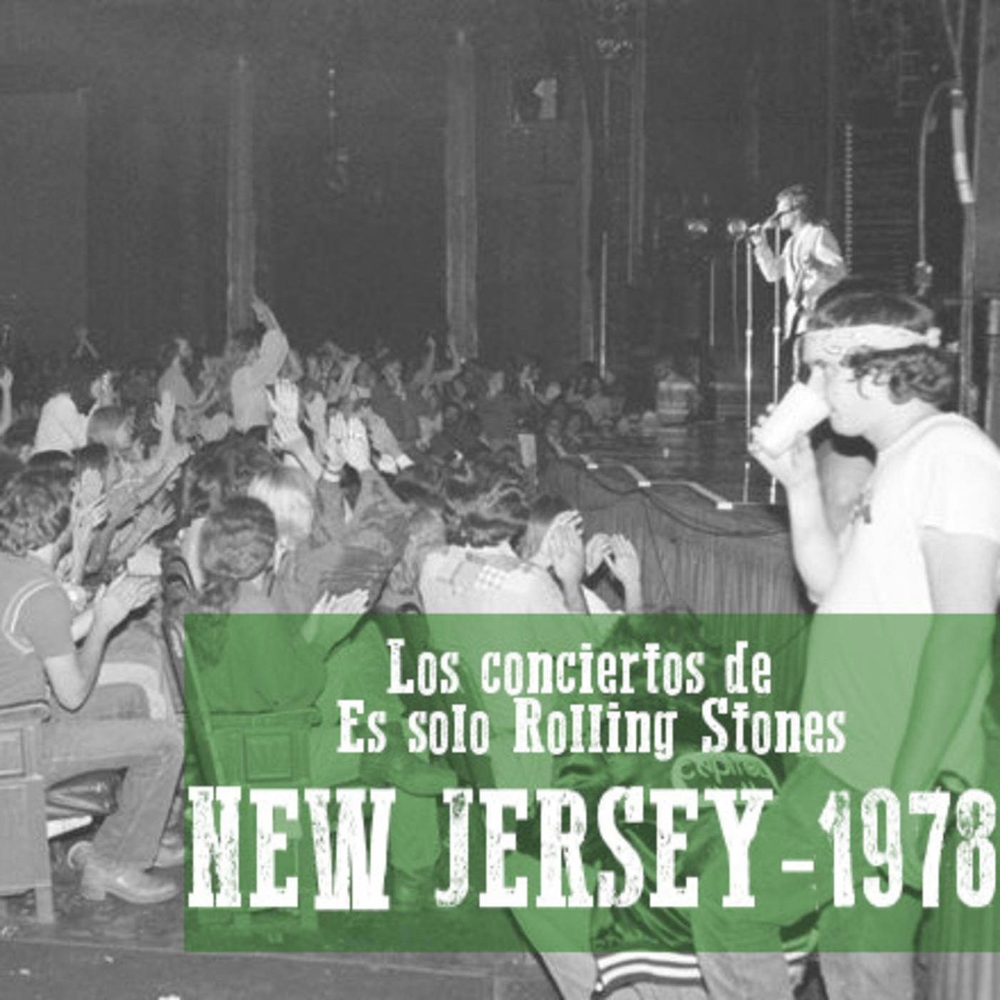 NUEVA JERSEY 1978 - Los conciertos de Es solo Rolling Stones