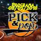 Pick&Pop 08/05/2018