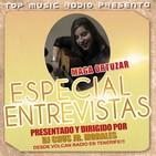 Entrevista a Maga Ortúzar realizada por Chus Jr. Morales desde Volcan Radio para Top Music Radio y Colaboradoras