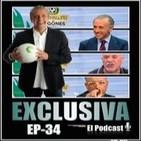 Exclusiva El Podcast EP- 34 Pedrerol, Arbeloa, Alfredo Duro, François Gallardo y mucho más…..