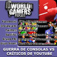 Guerra de consolas vs criticos de youtube | #12 | wbg podcast