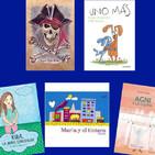 Libros infantiles en el Bibliotren
