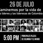 Especial 26 de julio En Colombia Marcha Por La Paz Con Mauricio Rodriguez # 157