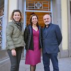Entrevista a Mª Carmen García Garnica, Concha Lázaro y Juan A. Maldonado del APFA de la UGR