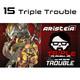 15. Triple Trouble