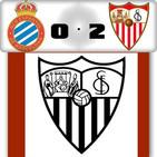 Los goles del Espanyol 0 Sevilla FC 2