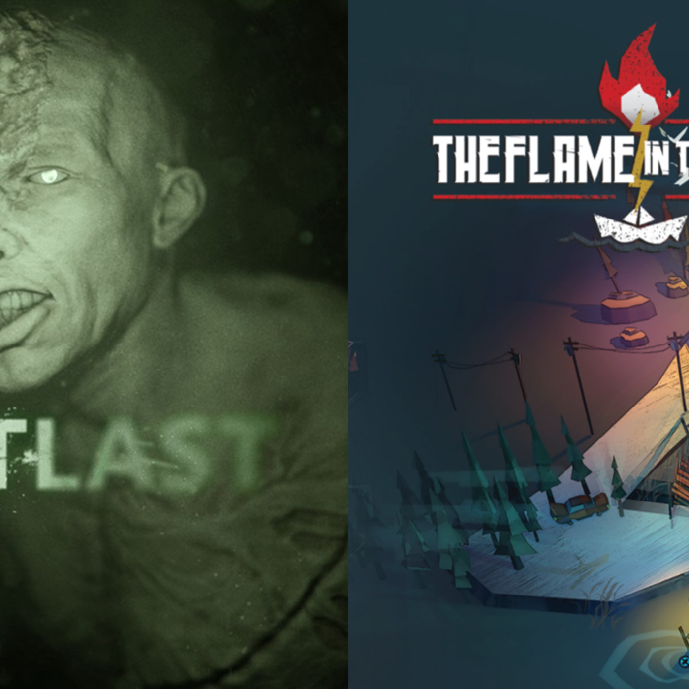 CG77-1 Outlast - The Flame in the Flood un Podcast de CronicasGoomba