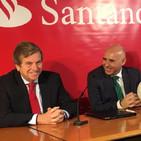 Rueda de prensa presentación patrocinio al Racing del Banco Santander