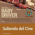 Baby Driver Saliendo del Cine