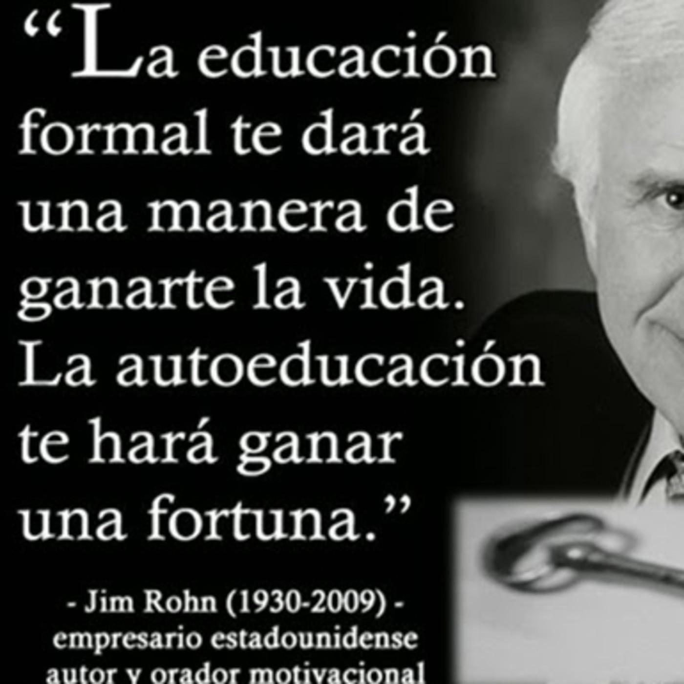 Jim Rohn Evalua Tu Desempeño En Escuela De Negocios Hbl En