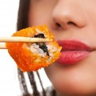 ASMR - Comiendo Sushi