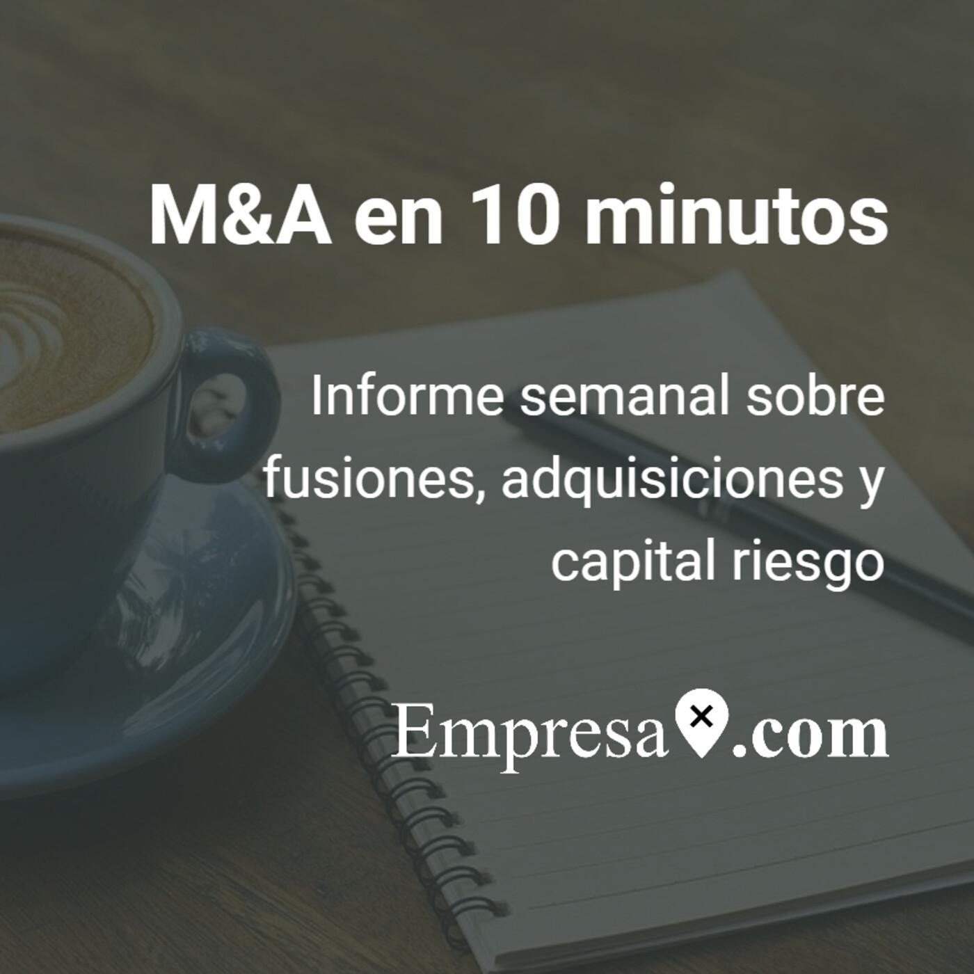 M&A en 10 minutos: Symborg, Izertis, Making Science, Gigas, Salto...