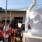 Reportaje Acto de desagravio a José Martí en Chambas