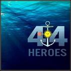 El submarino argentino ARA San Juan y la ciudad Heliap (Edgardo Marranti)
