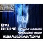 Cuadernos de Bitácora 27: Mini Psicofonía del Infierno · Aparición Animal · Fantasmogénesis completa